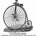 BICYCLE CAMERA AD, 1887 Print by Granger