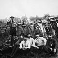 BICYLE RIDERS, c1880s Print by Granger