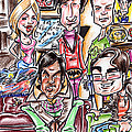 Big Bang Theory Print by Big Mike Roate