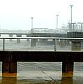 Big Dock Tropical Storm by Sheri McLeroy