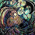 Bird And Flowers by YoMamaBird Rhonda