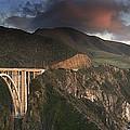 Bixby Bridge Sunset by Joe  Palermo