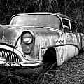 Black And White Buick by Steve McKinzie