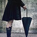 Black Umbrellla by Joana Kruse