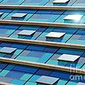 Blue Facade by Carlos Caetano