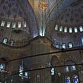 Blue Mosque Interior by Cheri Randolph