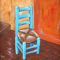 Blue Vincent by JW DeBrock