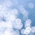 Blue Water And Sunshine Abstract by Elena Elisseeva