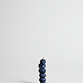 Blueberries Arranged Into A Stack, Studio Shot by Halfdark