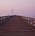 Boardwalk At Dawn by David Buffington