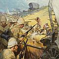 Boer War Skirmish by James Edwin McConnell