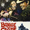 Bonnie And Clyde, Faye Dunaway, Warren by Everett