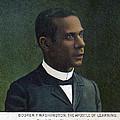 Booker T. Washington, Detail by Everett