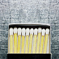 Box Of Wooden Matches On Stainless Steel. by Ballyscanlon