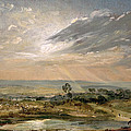 Branch Hill Pond Hampstead by John Constable