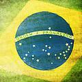 Brazil Flag by Setsiri Silapasuwanchai