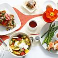 Breakfast Dishes On Table by Cultura/BRETT STEVENS