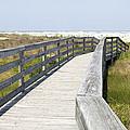 Bridge To The Beach by Glennis Siverson