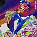Brother Ray Charles Print by David Lloyd Glover
