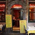 Brussels - Restaurant Savarin by Carol Groenen