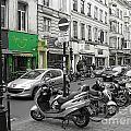 Bruxelles Street by Yury Bashkin