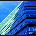 Buffalo New York Building in Neon