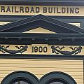 Building At Klondike Gold Rush National by Michael Melford