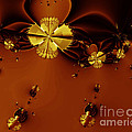 Bumble Beez Over Chocolate Lake . S19 by Wingsdomain Art and Photography