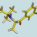 Bupropion Drug Molecule by Dr Tim Evans