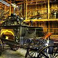 Burial Hearse Wagon Coach - Vintage - Nostalgia - Western - Antique  by Lee Dos Santos