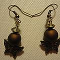Butterfly Brown Earrings by Jenna Green
