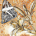 Butterfly Mosaic 02 Elena Yakubovich by Elena Yakubovich