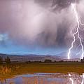 C2g Lightning Bolts Striking Longs Peak Foothills 6 by James BO  Insogna