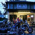 Cabbage Patch Bikers Bar Print by Kristin Elmquist