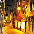 Cafe In Venice by Alberta Brown Buller