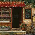 caffe Re Print by Guido Borelli