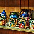 Calico Pottery by Brenda Bryant