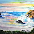 California Coast by Susan  Clark