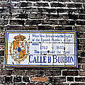 Calle D Borbon by Bill Cannon