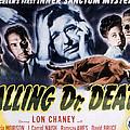 Calling Dr. Death, Patricia Morison, J by Everett