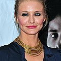 Cameron Diaz At Arrivals For The Box by Everett