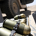 Cans Of Opened 40 Mm Grenades by Stocktrek Images