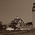 Cape Cod Lighthouse by Skip Willits