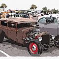 Car Show 1928 by Steve McKinzie