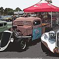 Car Show Hot Rods by Steve McKinzie