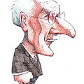 Carl Jung, Caricature by Gary Brown