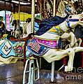 Carousel - Horse - Jumping by Paul Ward