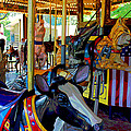 Carousel Fun by Bob Whitt