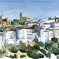 Casares 2 Print by Stephanie Aarons