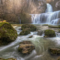 Cascade Of Billaud by Philippe Saire - Photography